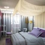 Изготовленный под заказ текстиль для спальни от салона штор Декория