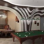 Удивительный интерьер дополняют декоративные подушки и интересные шторы от салона штор Декория