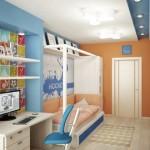 Текстиль для дизайна детской комнаты мальчика от салона штор Декория