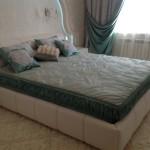 Комплект для спальни, декоративные подушки, покрывало, шторы от ателье Декория