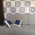 Мягкие декоративные подушки от салона штор и ателье Декория в Челябинске
