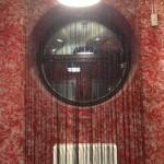 Нитяные шторы, черные на заказ для современного интерьера от салона Декория