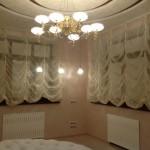 Нежные светлые шторы на заказ от салона штор Декория
