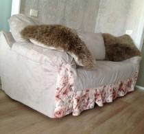 Пошив чехлов на мебель и декоративных подушек от салона Декория