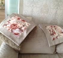 Отделка мебели и подушек от салона Декория