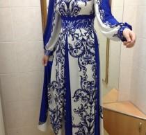 Платье в пол от ателье Декория