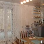 Тюль с орнаментом, белый, для квартиры студии в современном стиле от салона штор Декория
