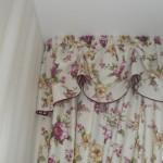 Летние цветочные шторы на кухню для дачи на оз.Увильды от салона Декория