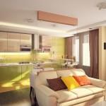 Классика в современном дизайне, теневые шоколадные шторы от салона штор и ателье Декория