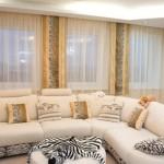Декоративный текстиль, а так же шторы для современного интерьера от салона штор Декория под заказ