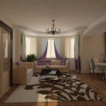 Наш текстиль в проекте интерьера квартиры на пр. Ленина