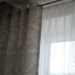 Классические теневые шторы на люверсах, под заказ в Челябинске от салона Декория