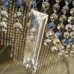 Шторы с кристаллами разного типа и цвета от салона штор Декория