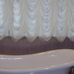 Французский пошив штор для ванных комнат от салона штор декория