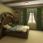 Пестрый текстиль для спальни, для дизайна спальни на Тарасовке, от салона штор Декория