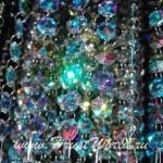 Нитяные шторы из разноцветных кристаллов от салона штор и ателье Декория