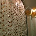 Нитяные шторы из кристаллов любого цвета и формы от салона штор Декория