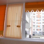 Оригинальные персиковые шторы с аксессуарами от салона штор Декория