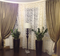Шторы и текстиль в классическом стиле