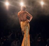 В конце марта в Челябинске состоялся конкурс «Платье города»