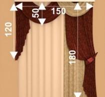 Какие мерки нужно знать при заказе штор